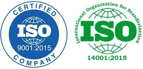 ISO Certification logos