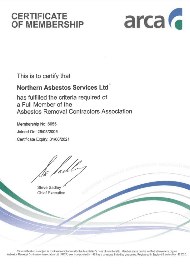 Arca Certification